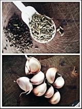 caraway, fennel & garlic