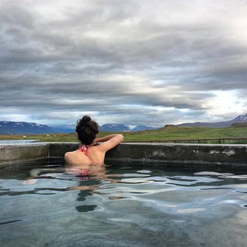 icelandic bathing