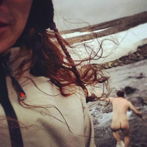 Jons glacial swim