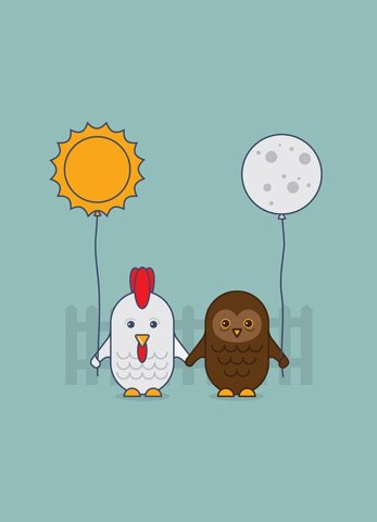 Are you a night owl, or an early bird?