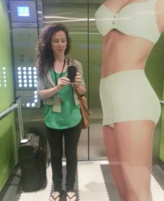 Problogger lift selfie