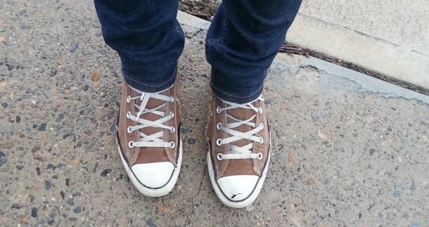 gratitude - broken shoes